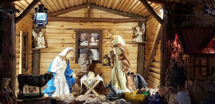 Ruchoma i żywa szopka w Sanktuarium w Lutogniewie
