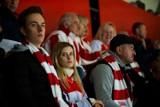 Kibice Cracovii dopingowali zespół w meczu z Katowicami