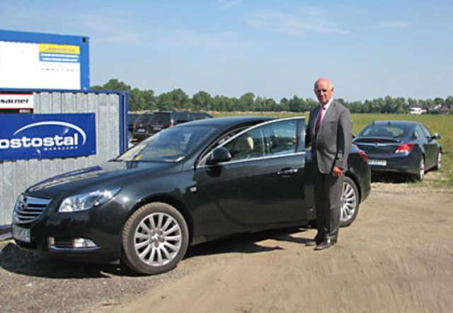 Prezydent Robert Malinowski już się nie wypiera, że jeździ służbowym autem do sklepu