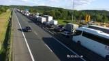 Wypadek na A4. Gigantyczny korek na obwodnicy Krakowa