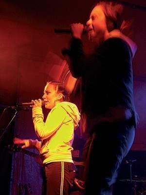 Grupa Sistars dała we wtorkowy wieczór znakomity koncert.  Wojciech Trzcionka