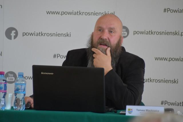 Tomasz Miechowicz zrezygnował z funkcji wiceprzewodniczącego rady powiatu krośnieńskiego.