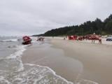 Tragiczny dzień nad morzem na Pomorzu! 4 utonięcia w sobotę, 17.07.2021 r. Poszukiwano 21-latka w Jastrzębiej Górze