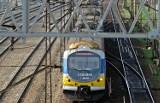 Zadymienie w pociągu SKM na stacji Gdynia Orłowo. 13.05.2021 r. Nikomu nic się nie stało. Są duże opóźnienia w ruchu pociągów