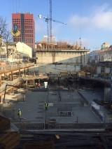 Kolejny etap prac przy budowie Hi Piotrkowska zakończony [ZDJĘCIA]