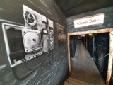 Niezwykłe wejście do Centrum Sportów Wspinaczkowych i Siłowych w Bytomiu. Górnicze malowidła przypomną o historii tego miejsca!