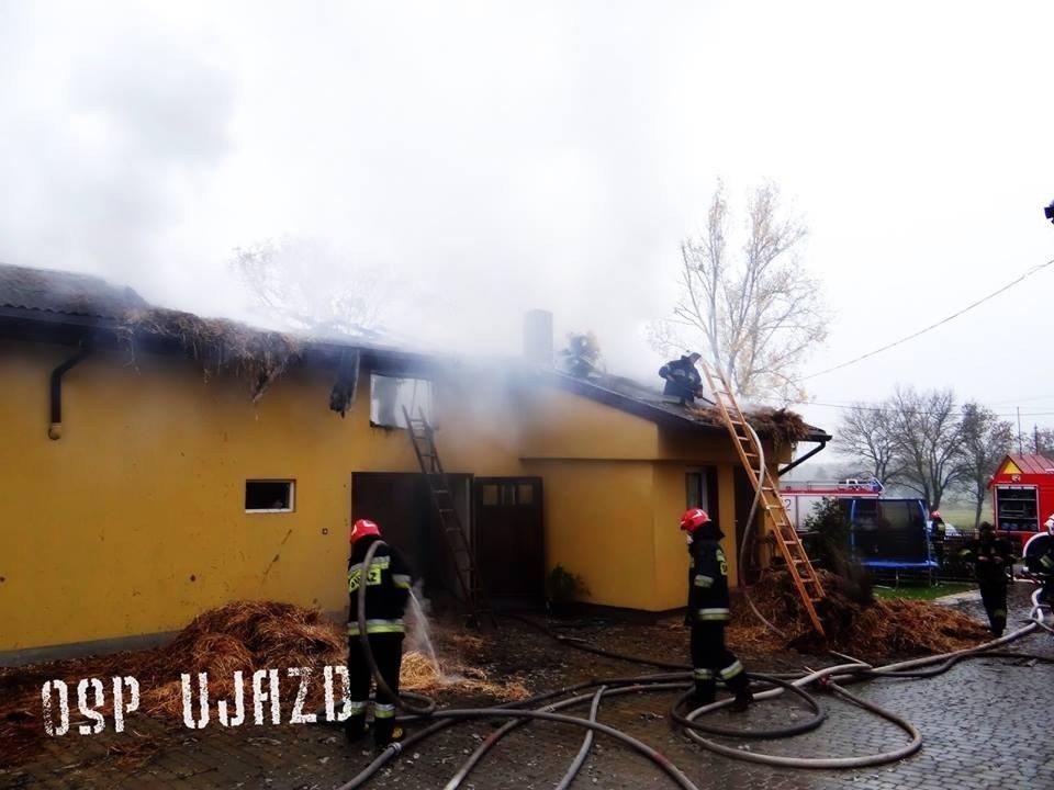 f8ffef1283cc9 Pożar w Wygodzie  Ponad 6 godzin gasili pożar domu  ZDJĘCIA ...