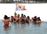 Bytowskie morsy dołączyły do Wielkiej Orkiestry Świątecznej Pomocy [ZDJĘCIA]