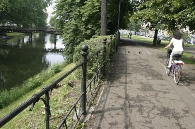 Promenada Staromiejska przy pl. Jana Pawła II (zdjęcie ilustracyjne)