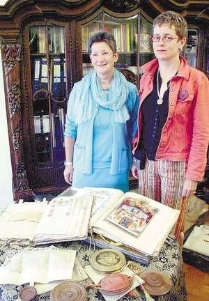 Archiwum przywiozły Maria de Pilar Keuschnig i Diana Voigt, które w Polsce były po raz pierwszy.