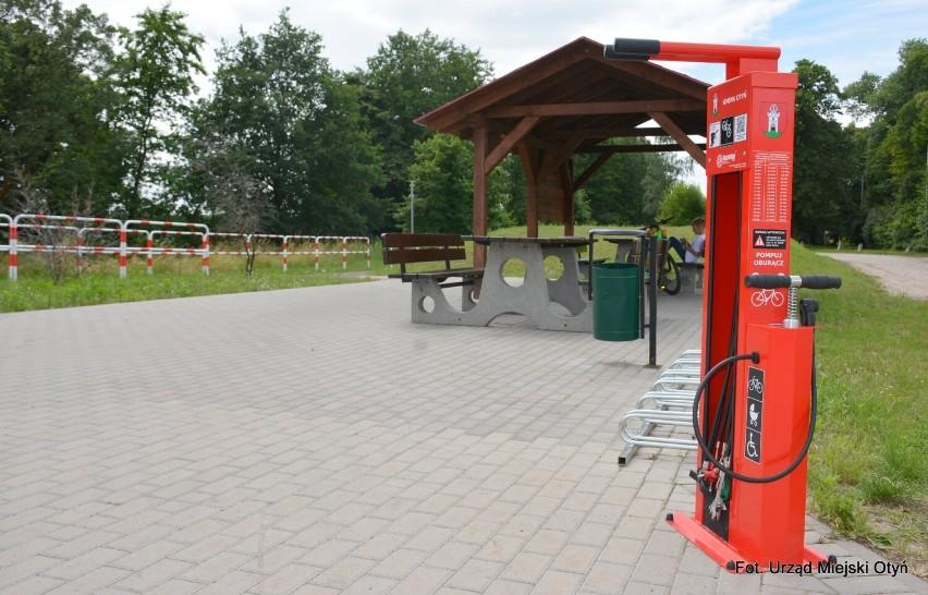 W Otyniu powstała stacja naprawy rowerów. Można korzystać za...