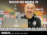 Legia mistrzem Polski. Zamiast mistrzowskiej fety dodatkowy trening [MEMY]