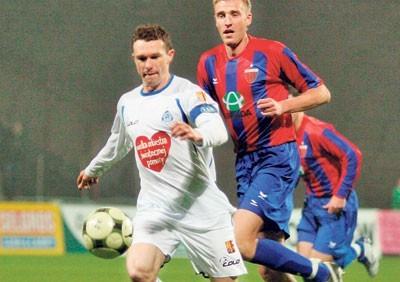 Wojciech Grzyb w ub. roku strzelał Polonii gole w każdym meczu