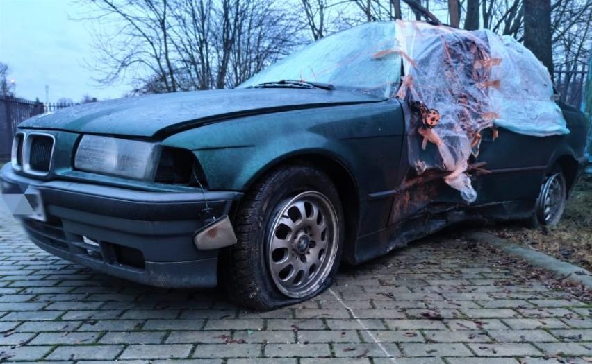 Policjanci z Sejn zatrzymali kierowcę. Był tak pijany, że nie miał siły dmuchać w alkomat