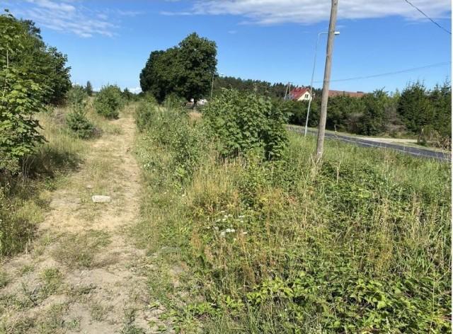 Fragment dawnej linii kolejowej w gminie Barwice, tędy pójdzie ścieżka rowerowa