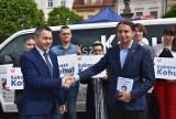 Śląska Partia Regionalna poparła Łukasza Kohuta i Marka Plurę w wyborach do Parlamentu Europejskiego WIDEO