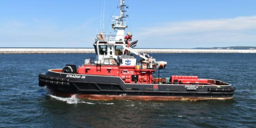 W porcie będzie nowy statek pożarniczy. Czekają na oferty