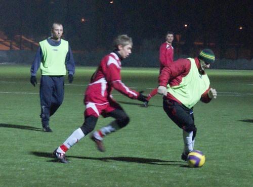 Piłkarze zagrali na nowym boisku w Sosnowcu