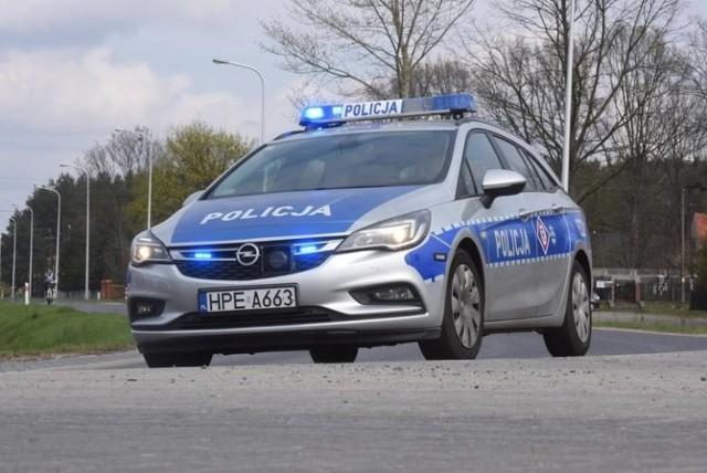Policyjny pościg zakończyłsię zatrzymaniem 25-latka