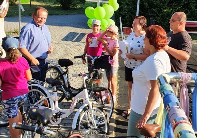 Burmistrz Lublińca ogłosił loterię - zaszczep się, a wygrasz rower!