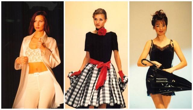 Pamiętacie te kroje? Bardzo kobiecy styl na wybiegach w latach 80. i 90. Zobaczcie zdjęcia naszego fotoreportera sprzed lat