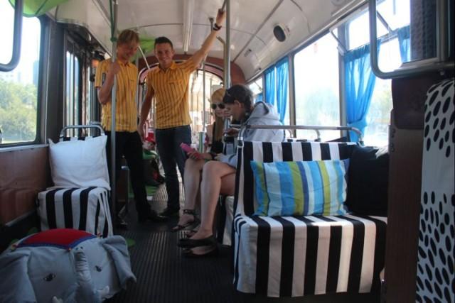 tramwaj IKEA, tramwaj jak mieszkanie