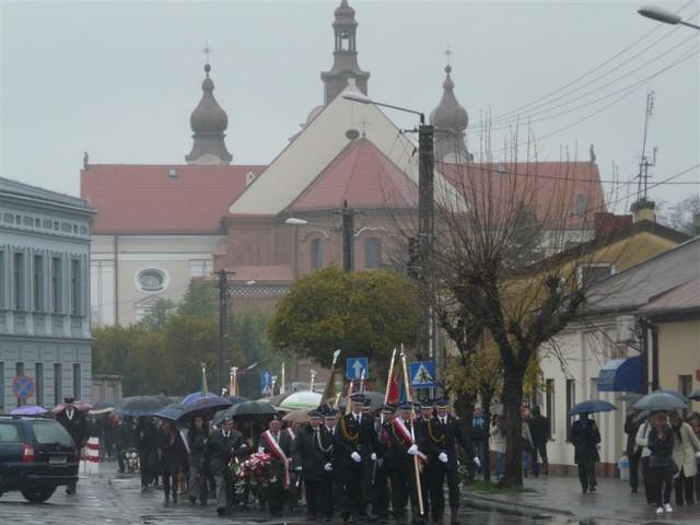Łask. Obchody rocznicy Konstytucji 3 Maja w roku 2013