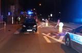 Wypadek w Chorzowie. Samochód potrącił kobietę na przejściu