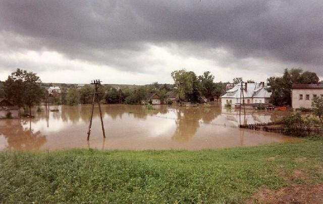 Rzeka Uszwica nie oszczędza mieszkańców gminy Gnojnik. Wieś Uszew należy do najczęściej zalewanych w Małopolsce