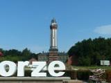 Szlak polskich latarń morskich w Parku Miniatur w Niechorzu