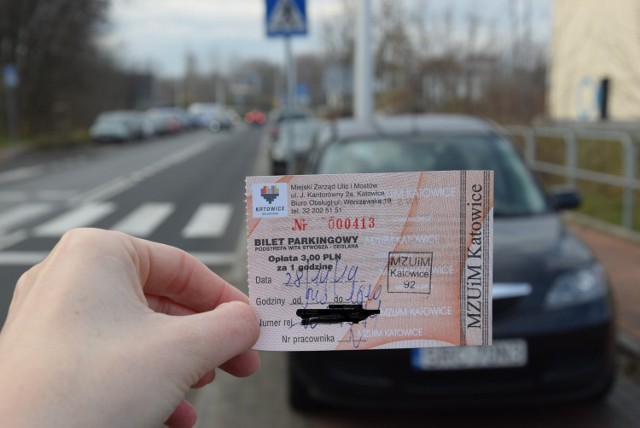 Parkingi na Ceglanej i Wita Stwosza w Katowicach