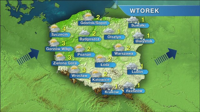 Dziś w Szczecinie temperatura wyniesie maksymalnie 4 stopnie. W ...
