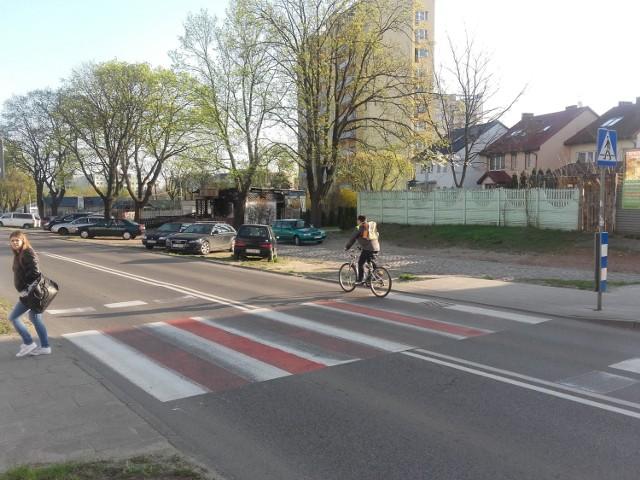 Za rok przejazd rowerem wzdłuż ulicy Łubinowej ma być bardziej bezpieczny.