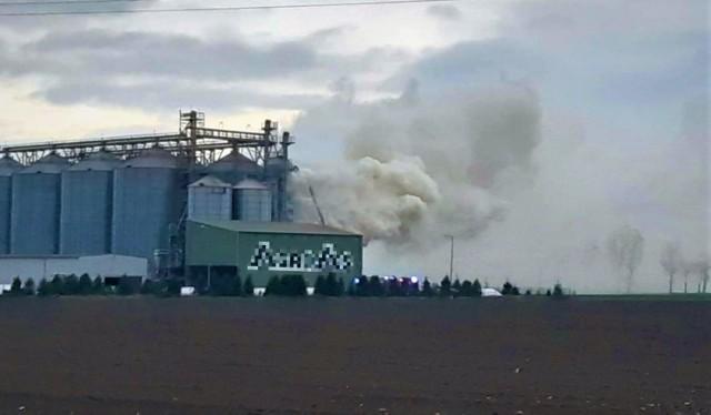 Przyczyny pojawienia się ognia będą ustalane po zakończeniu działań strażaków.