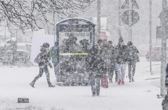 Ostrzeżenie pogodowe przed zawiejami/zamieciami obowiązuje do godziny 18.00 w sobotę, 16 stycznia.