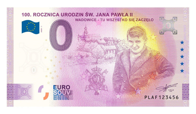 Nastoletni Karol Wojtyła na banknocie o nominale 0 euro. Czy to nie przesada? Podobny? Zobaczcie [ZDJĘCIA] | Żnin Nasze Miasto