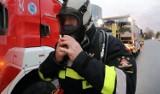 Ewakuacja mieszkańców po wybuchu butli z gazem w Legnicy. Jedna osoba ranna