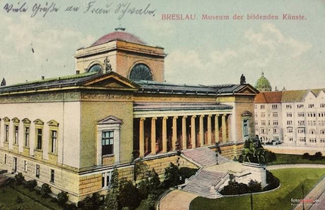 Śląskie Muzeum Sztuk Pięknych we Wrocławiu działało od 1880 do 1945 r.