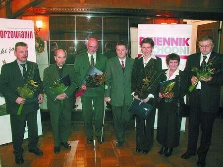 Tylko siedmiorgu spośród dwunastu nominowanych obowiązki służbowe pozwoliły przybyć na uroczystość wręczenia statuetki. sylwester witkowski (3)