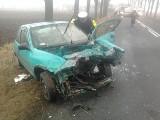 Na drodze wojewódzkiej nr 433 zderzyły się trzy auta
