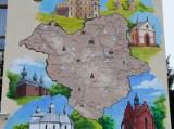 Mural, który powstał w Birczy jest ogromny. Ma 9 metrów wysokości i 5 metrów szerokości [ZDJĘCIA]