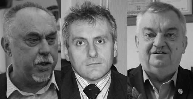 Od lewej: Janusz Sanocki, Artur Tomala, Wilhelm Beker.