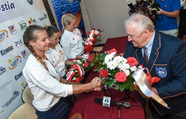 Wioślarki LOTTO-Bydgostii Magdalena Fularczyk-Kozłowska i Natalia Madaj wróciły już do Bydgoszczy. Wraz z nimi przyjechała także brązowa medalistka Monika Ciaciuch.  - Zrealizowałyśmy nasze wielkie marzenie - mówiły zawodniczki.