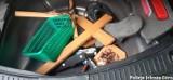 Włamali się do kapliczki i ją kradli, a kierowca spowodował kolizję. Po badaniu okazało się, że jest pod wpływem narkotyków