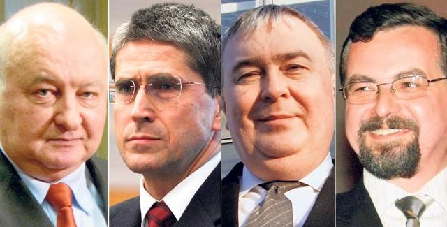 Andrzej Stania, Marek Kopel, Marek Mrozowski , Radosław Baran