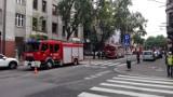 Katowice: Alarm pożarowy  w banku przy ul. Kopernika [ZDJĘCIA]
