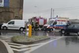 Wypadek na DK 11 w Ciasnej. Ranny został 36-letni kierowca z powiatu kłobuckiego