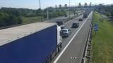Kraków. Dwa groźne wypadki na obwodnicy. Są utrudnienia w ruchu, kierowcy utkną w korku [ZDJĘCIA]