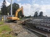 Ruszyły prace rozbiórkowe na stadionie Rakowa. Piłkarze przygotowują się do kolejnych starć