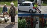 Zobacz, kogo złapały kamery Google Street View na osiedlu Huby!